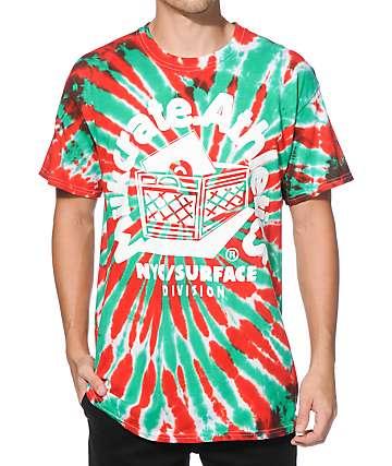 Milkcrate Watermelon Tie Dye T-Shirt