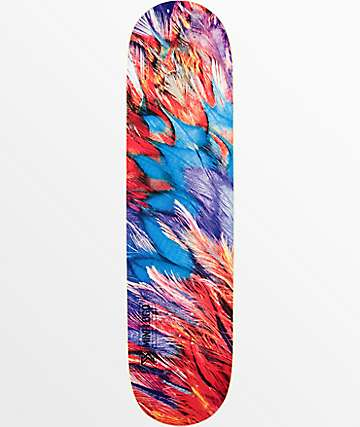 "Mini Logo Feathers 8.0"" Skateboard Deck"