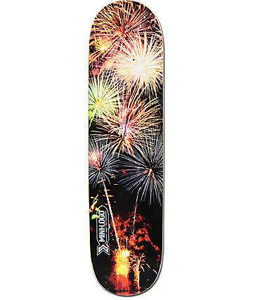 "Mini Logo Fireworks 8.0"" Skateboard Deck"