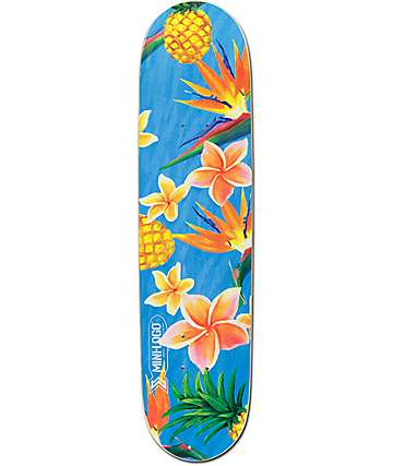 "Mini Logo Flowers 7.75"" Skateboard Deck"