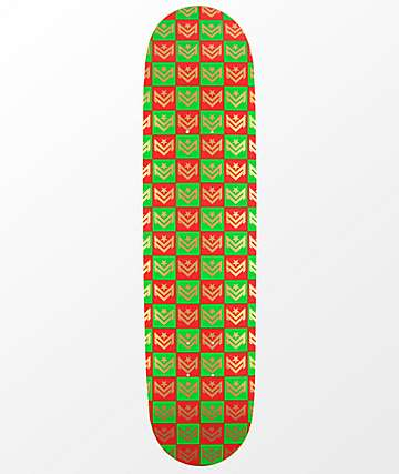 "Mini Logo Gift Wrap Chevron 7.75"" Skateboard Deck"