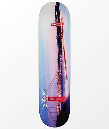 "Mini Logo San Francisco 8.0"" Skateboard Deck"