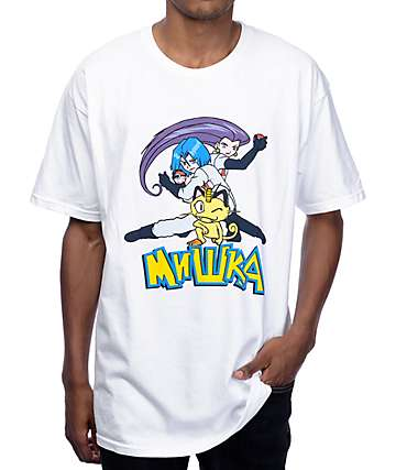 Mishka Blasting Off Again White T-Shirt