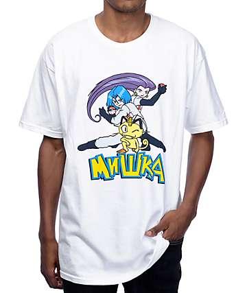 Mishka Blasting Off Again White T-Shirt