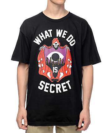 Mishka Brotherhood Black T-Shirt