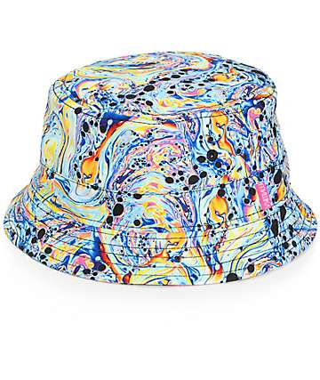 Mishka Crushed Keep Watch Reversible Bucket Hat