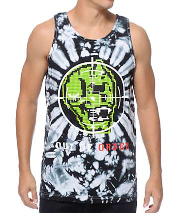 Mishka Cyco Sight Tie Dye Tank Top