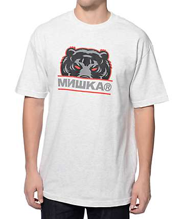 Mishka Death Adder Sport Heather Grey T-Shirt