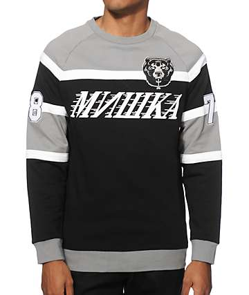 Mishka Death Adders Hockey Crew Neck Sweatshirt