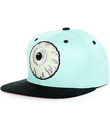 Mishka Glow In The Dark Keep Watch Snapback Hat
