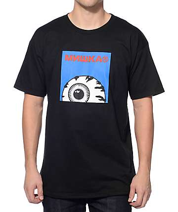 Mishka Keep Watch Box Logo Black T-Shirt
