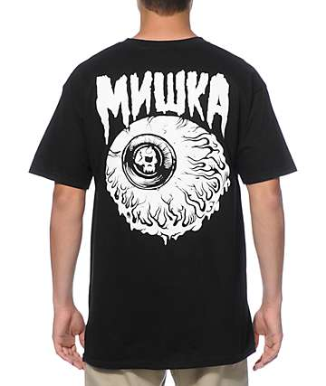 Mishka Lamour Keep Watch Glow In The Dark T-Shirt