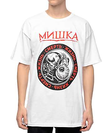 Mishka Life Cycle White T-Shirt