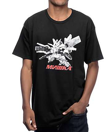 Mishka Mobile Suit Black T-Shirt