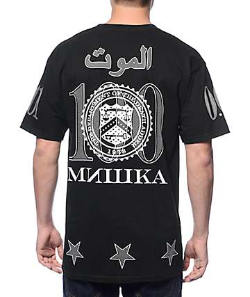 Mishka Pro Piracy Black T-Shirt