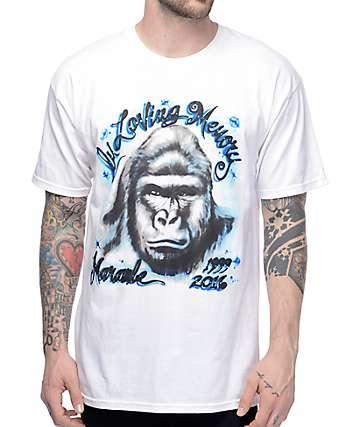 Mishka R.I.P. Harambe White T-Shirt