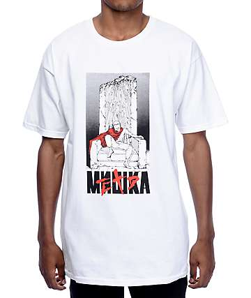 Mishka Watch The Throne Akira White T-Shirt
