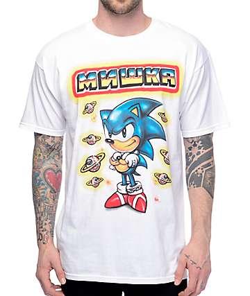 Mishka x Sega Sonic White T-Shirt