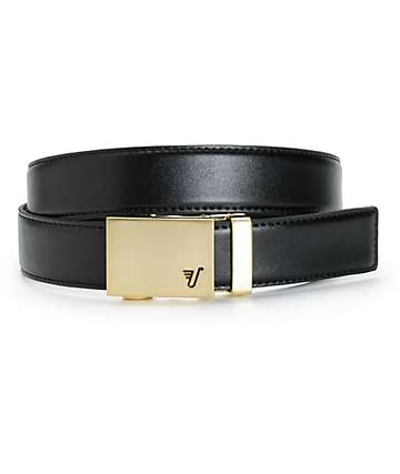 Mission Gold Leather Belt