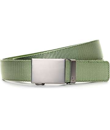 Mission Predator Olive Nylon Web Belt