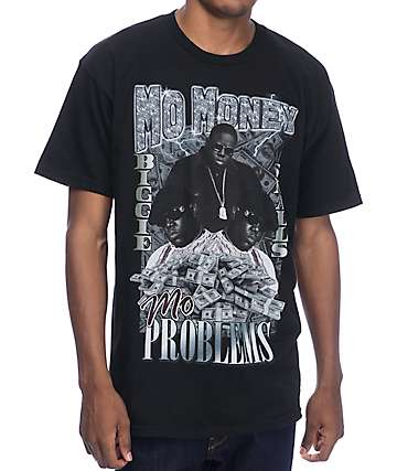 Mo Money Mo Problems Black T-Shirt