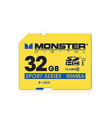Monster SD Sport 32GB Micro Memory Card