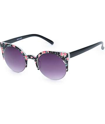 Moon Ditsy Floral Sunglasses