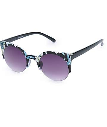 Moon Kona Floral Sunglasses