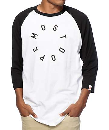 Most Dope Circle Baseball T-Shirt
