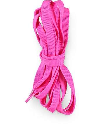 Mr. Lacy Flatties Lipstick Pink Shoe Laces