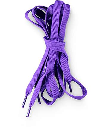 Mr. Lacy Flatties Violet Shoe Laces