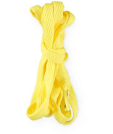 Mr. Lacy Smallies Yellow Shoe Laces