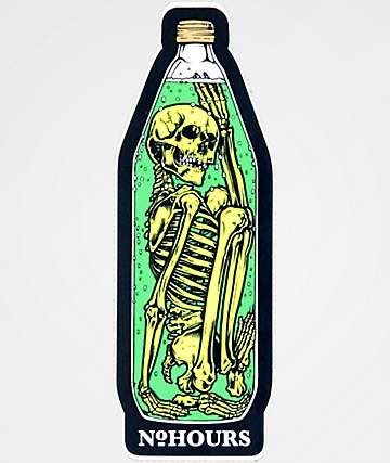 N°Hours Bottle Sticker
