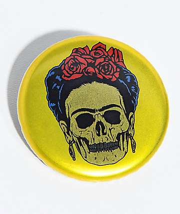 N°Hours Frieda Skeleton Gold Button