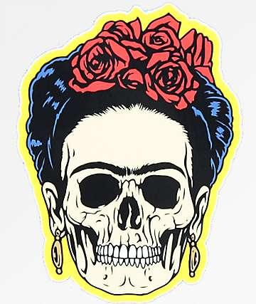 N°Hours Frieda Skull pegatina