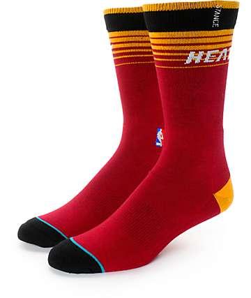 NBA Stance Heat Arena Logo Crew Socks
