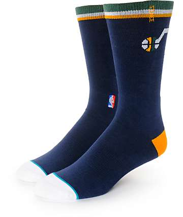 NBA Stance Jazz Arena Logo Crew Socks
