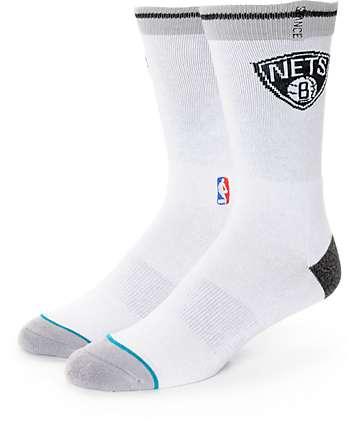 NBA Stance Nets Arena Logo Crew Socks