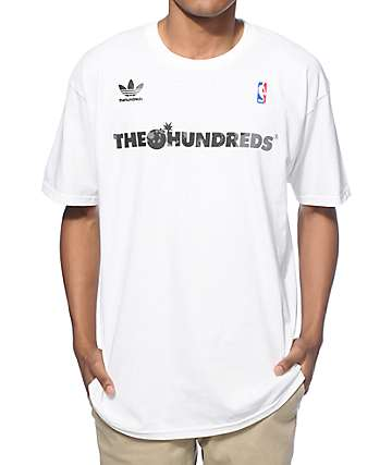 NBA adidas x The Hundreds FB Brooklyn T-Shirt