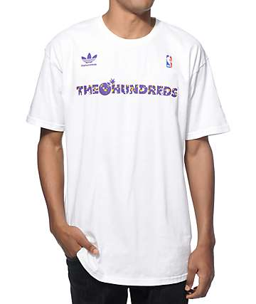NBA adidas x The Hundreds FB Los Angeles T-Shirt