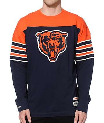 NFL Mitchell and Ness Bears Pump Fake Knit Jersey
