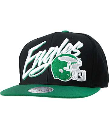NFL Mitchell and Ness Eagles Flashback Snapback Hat