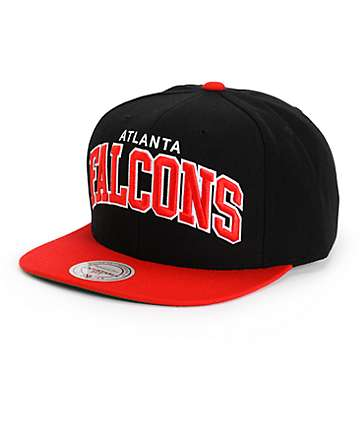 NFL Mitchell and Ness Falcons Arch Snapback Hat