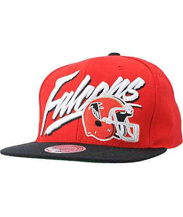 NFL Mitchell and Ness Falcons Vice Snapback Hat