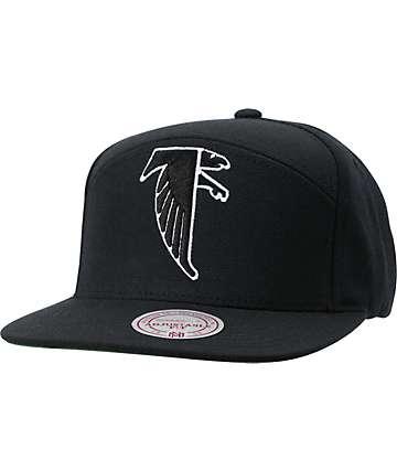 NFL Mitchell and Ness Horizontal Atlanta Falcons Snapback Hat