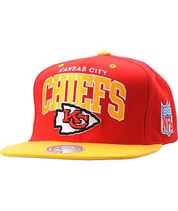 NFL Mitchell and Ness Kansas City Chiefs Snapback Hat
