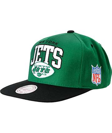 NFL Mitchell and Ness New York Jets Snapback Hat
