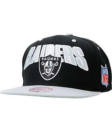 NFL Mitchell and Ness Oakland Raiders Flashback Snapback Hat