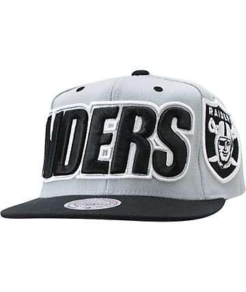 NFL Mitchell and Ness Oakland Raiders XL Snapback Hat