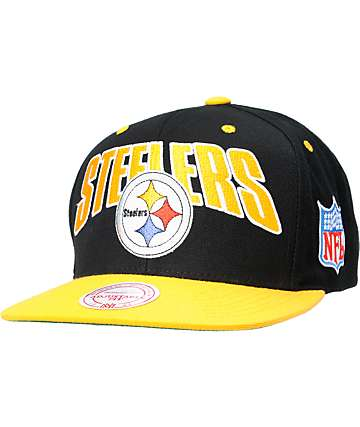 NFL Mitchell and Ness Pittsburg Steelers Flashback Snapback Hat